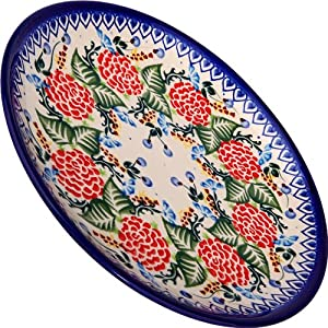 Polish Pottery Ceramika Boleslawiec 1102/280 Dessert Plate 19, 7-1/2-Inch in Diameter
