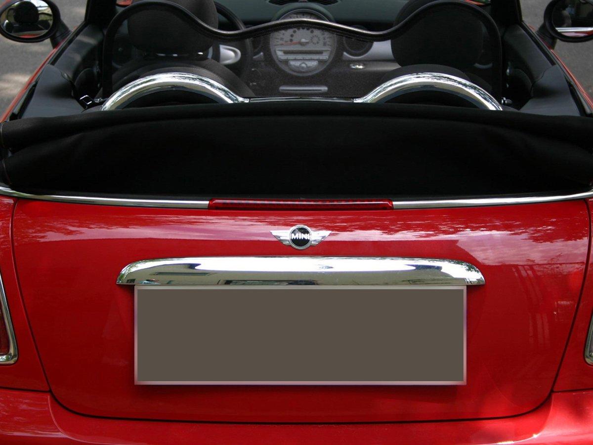 2004-2016 Black for Mini Cabriolet R52//R57 | Windstop Foldable Wind Deflector with Quick Fastener Wind Blocker