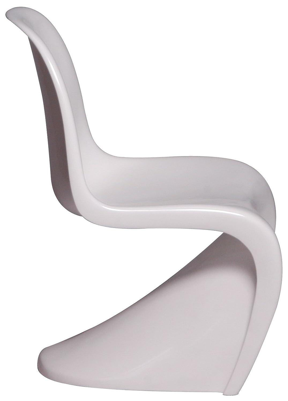 パーソナルチェア Panton chair(パントンチェア) TA59 WH 139-00334 (OD) B00919S10Wホワイト