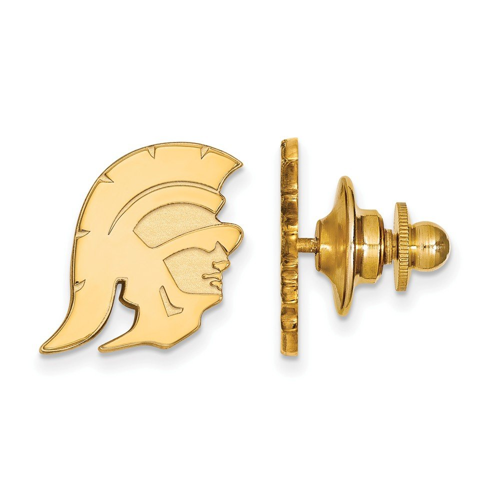 14K Yellow Gold University of Southern California Tie Tac by LogoArt (4Y027USC)