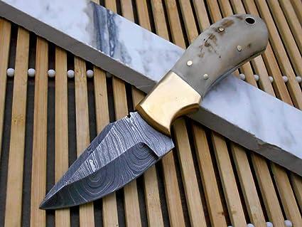 Amazon.com: Cuchillo de bolsillo compacto de acero forjado a ...