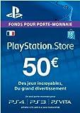 Carte Playstation Network 50 EUR | Code Jeu PSN - Compte français