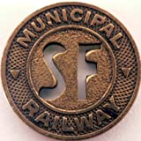 1945 San Francisco Transit Token