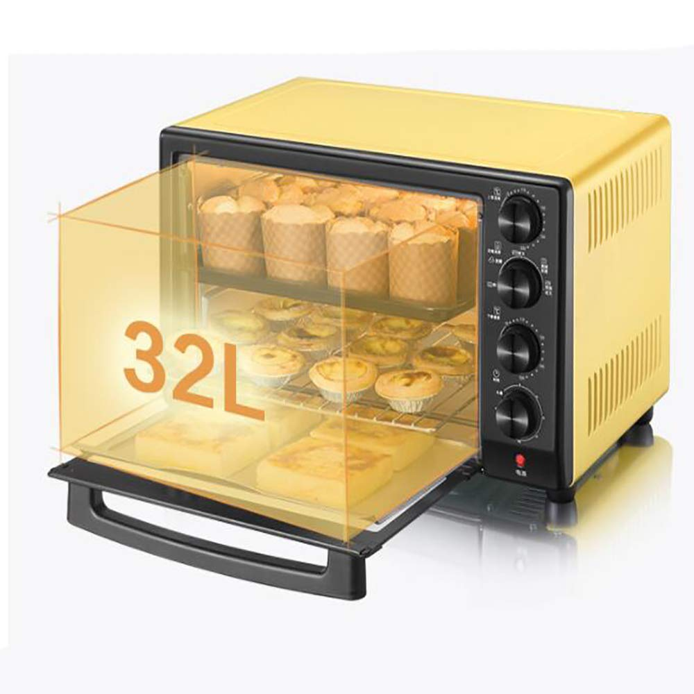 Amazon.com: 32L Mini horno cocina parrilla con temporizador ...