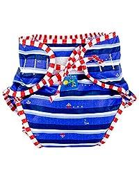Kushies Baby Unisex Swim Diaper - X-Large,Ahoy Print,X-Large,