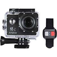 Andoer LCD 4K HD Sports Camera (Black)