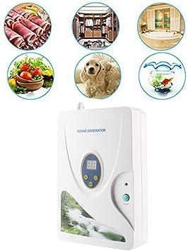 ZJchao Ozonizador doméstico Digital generador de ozono ionizador ...