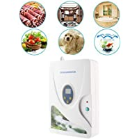 zjchao Ozonizador doméstico Digital generador de ozono ionizador