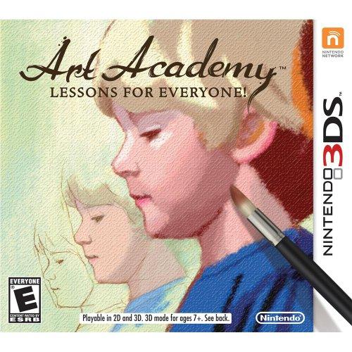 Art Academy Lessons Everyone Nintendo 3DS
