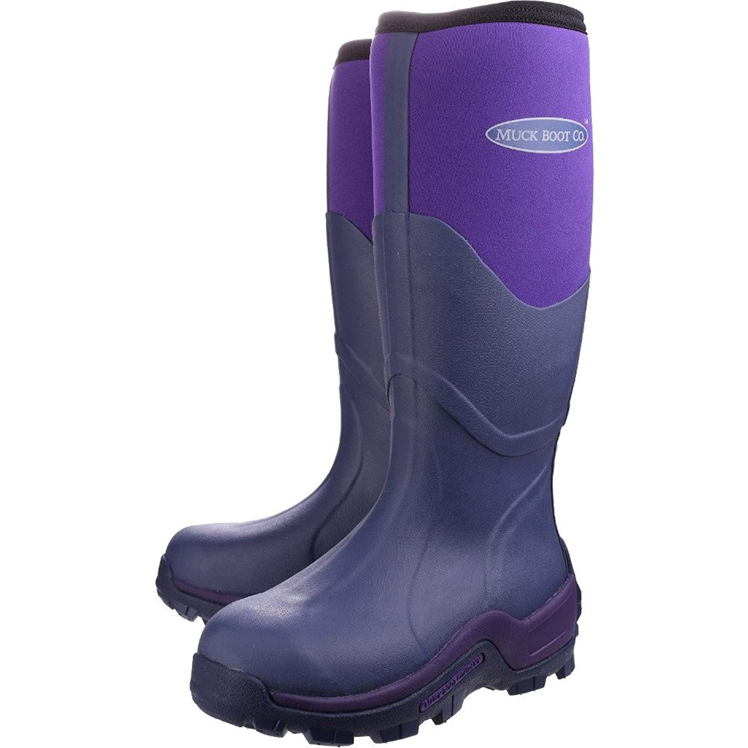Muck Boot Womens Purple 'Greta' Wellington Boots: Amazon.co.uk: Shoes & Bags