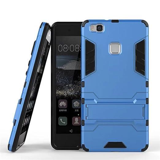 7 opinioni per Cover Huawei P9 Lite, Yoowei® [Rugged Armor] Kickstand Series Ultra Sottile