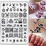 Doinshop DIY Nail Art,Fashion Image Stamp Stamping Plates Manicure Template