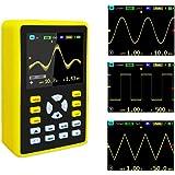 YEAPOOK ADS5012h Handheld Digital Portable Oscilloscope Mini Storage Oscilloscope Kit with 100MHz Bandwidth 500MS/s Sampling