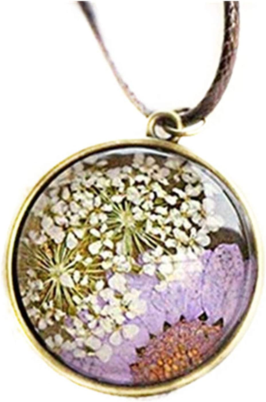 Daisy Terrarium Necklace Real Flower Necklace Pressed Flower Jewelry Sunflower White Daisy Jewelry Bridesmaid Necklace Floral Necklace Glass