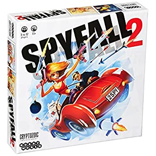 Spyfall 2 Game (12 Players)