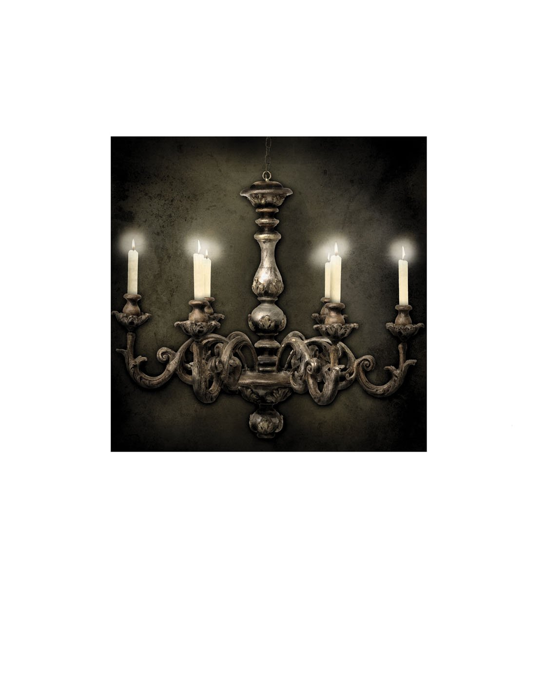 Ohio Wholesale Everyday Collection Radiance Lighted French Chandelier Canvas Wall Art