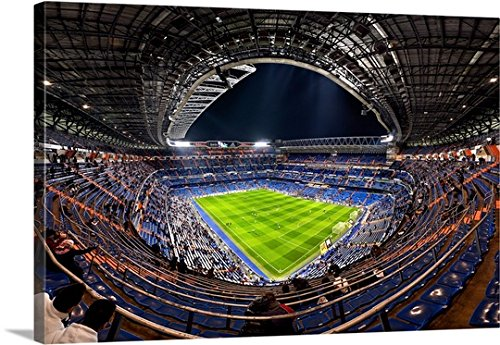 Jesus M Garcia Premium Thick-Wrap Canvas Wall Art Print entitled Santiago Bernabeu by Canvas on Demand