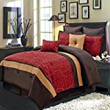 Sheetsnthings 12 PC king Size Atlantis Red Bed Review and Comparison