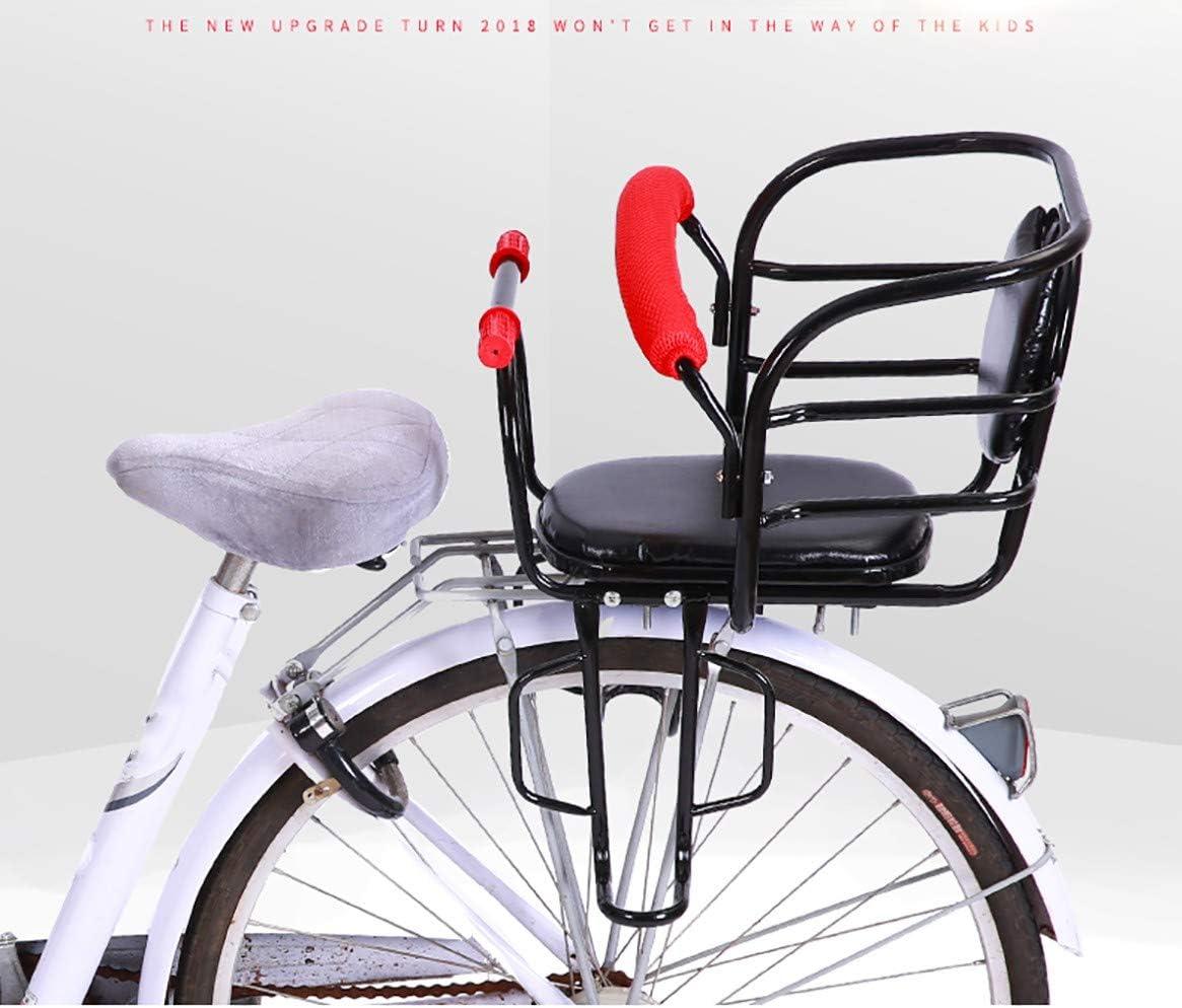 HHHKKK Asiento de Bicicleta para niños, Marco Absorbente de Ultra ...