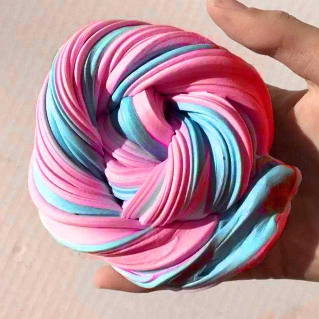 Upxiang 1Pc Fluffy Floam Slime Scented Stress Relief Clay Toy (A) UPXIANG Toys & Games