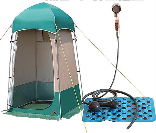 Tienda de inodoro para acampar, ligera, plegable, impermeable ...