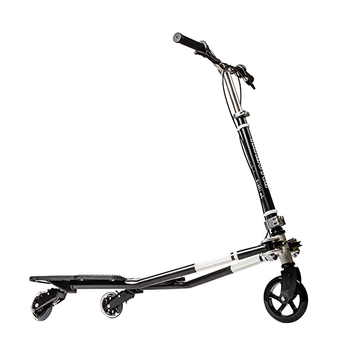 Amazon.com: MSKI Semi Best Patented 3 Wheel Tilting Scooters ...