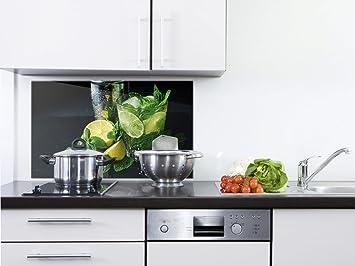 GRAZDesign Rückwand Küche Limetten - Küchen Spritzschutz Herd ...