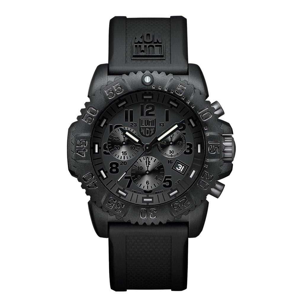 Luminox Men's 3081.BO Quartz Black Dial Carbon Reinforced Polycarbonate Watch by Luminox