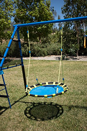 FITNESS REALITY KIDS 'The Ultimate' 8 Station Sports Series Metal Swing Set by FITNESS REALITY KIDS (Image #2)