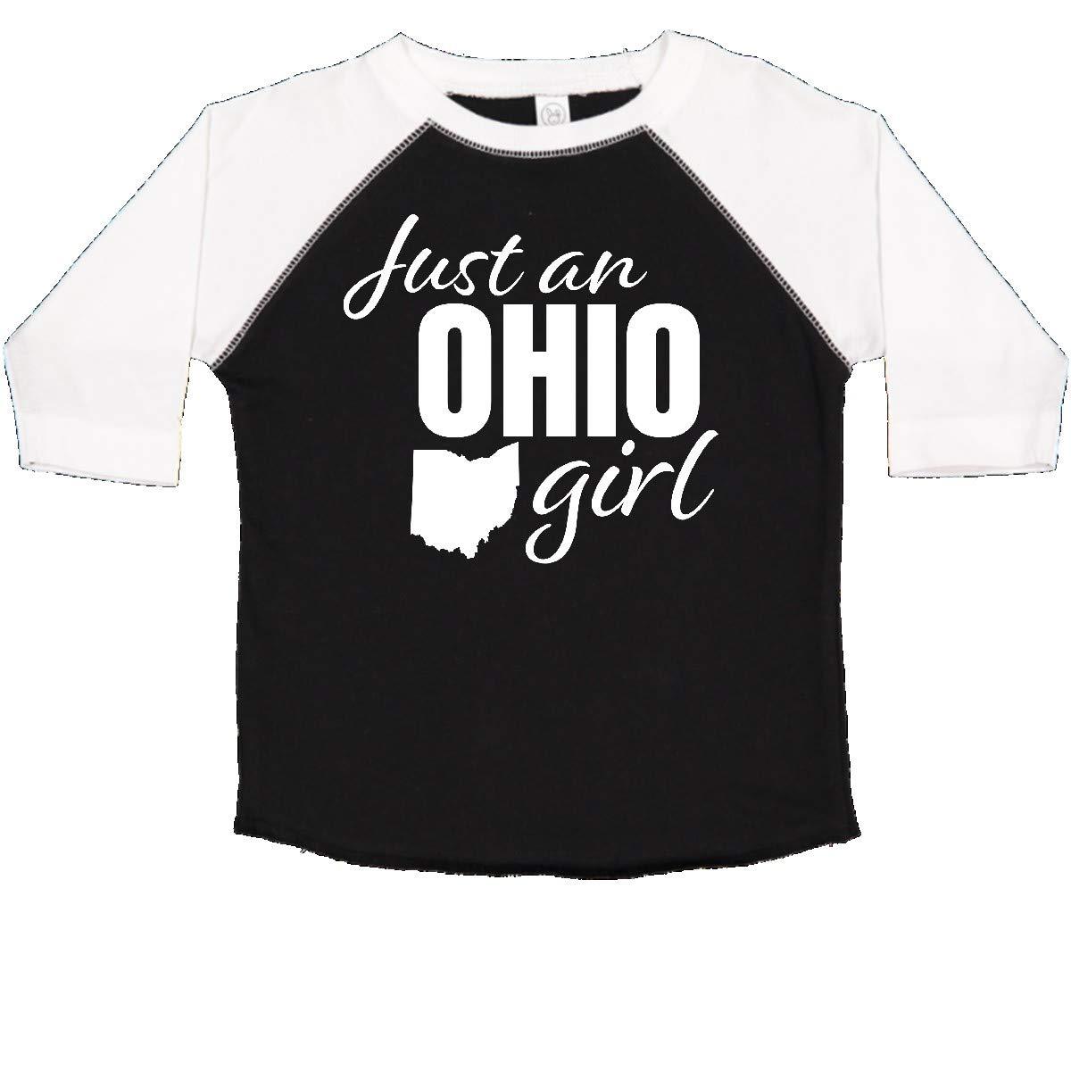 inktastic Born in Ohio Toddler T-Shirt