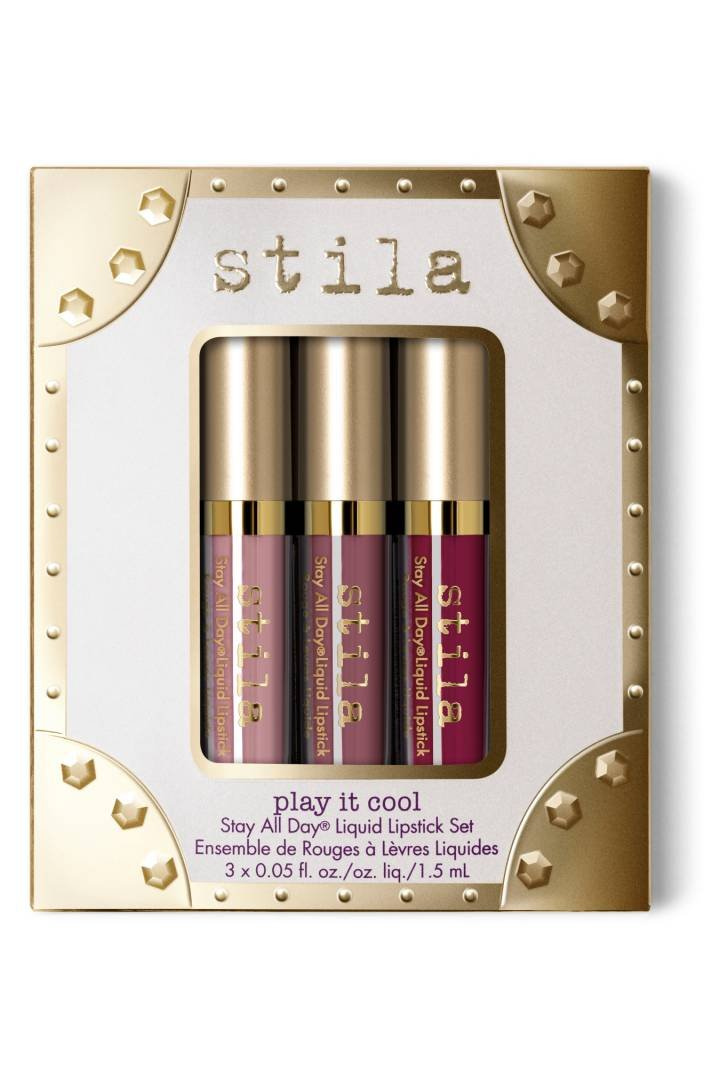 stila Play It Cool Stay All Day Liquid Lipstick Set, Multi