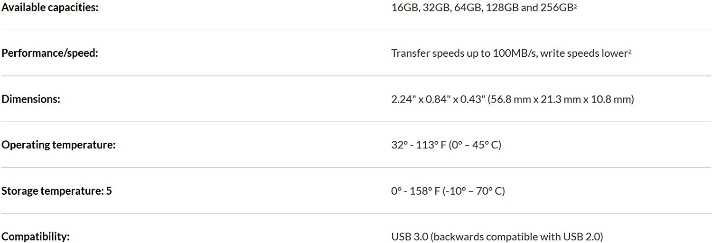SanDisk Ultra 256 GB USB Flash Drive USB 3.0 up to 130 MB//s