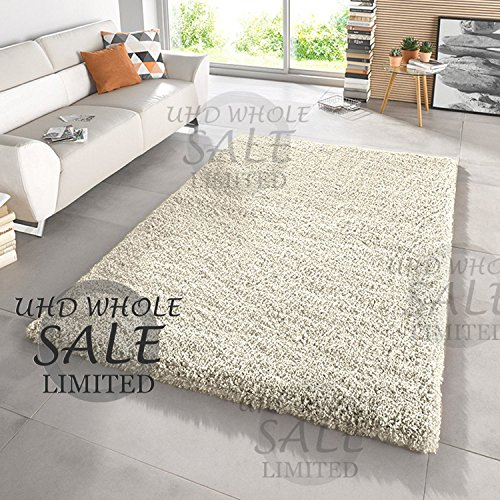 FB FunkyBuys Large Small Modern Soft Touch Shaggy Thick Luxurious 5cm Dense...