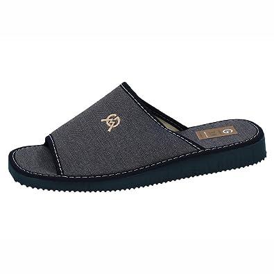 GEMA GARCIA 2046-14 Zapatillas para CASA Hombre Zapatillas CASA Marino 39: Amazon.es: Zapatos y complementos