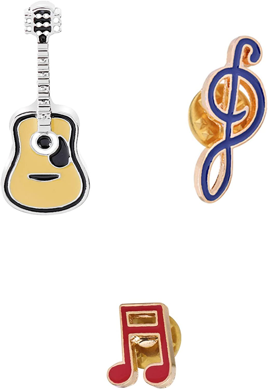 CAROMAY - Juego de 3 broches para Solapa, diseño de Guitarra ...