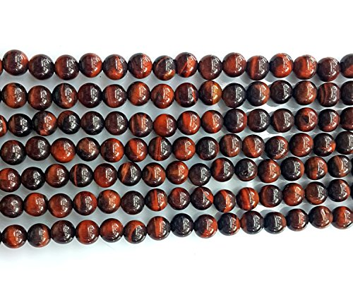 Heated 16in Strand (Bead, red tigereye (heated), 10mm round, B grade, Mohs hardness 7. Sold per 16-inch)
