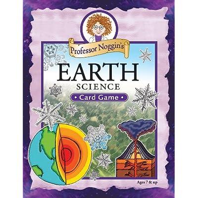 Educational Trivia Card Game - Professor Noggin's Earth Science: Toys & Games