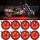 LEDGlow 8pc. Red LED Pod Lighting Kit