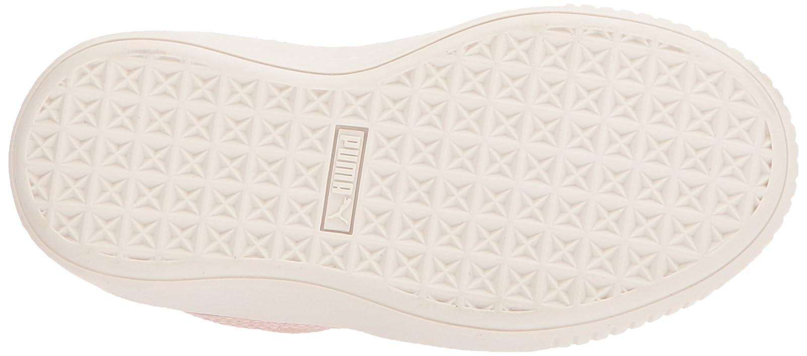 PUMA Kids' Suede Platform Glam Sneaker Pink 36492207 - 3