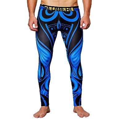 Pantalones para Hombre Chándal de Hombres Impresión Gym Deportivos ...