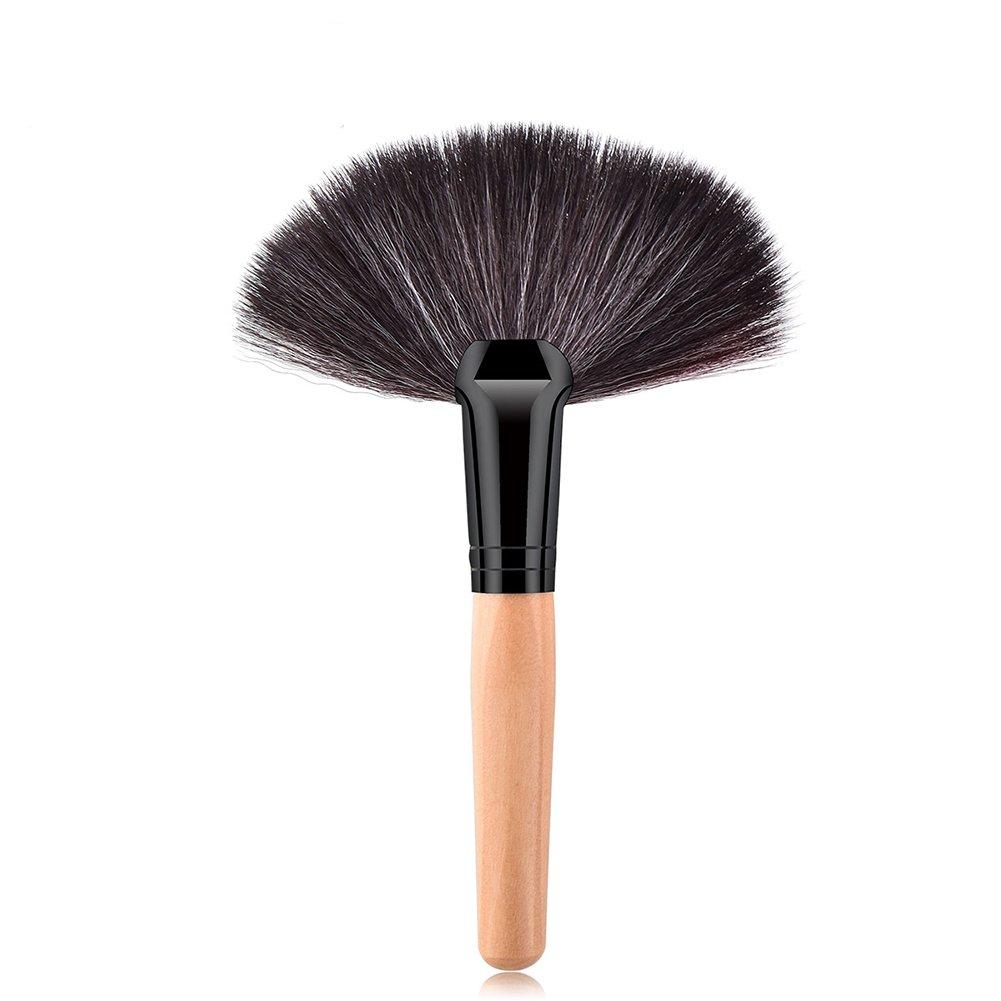 Wansan Maquillage professionnel Pinceau Blush Pinceau Fondation Poudre Outil Poudre Cosmétique Poudre Cosmétique Polissage, Pointillé, Concealer Secteur En Bois Rose