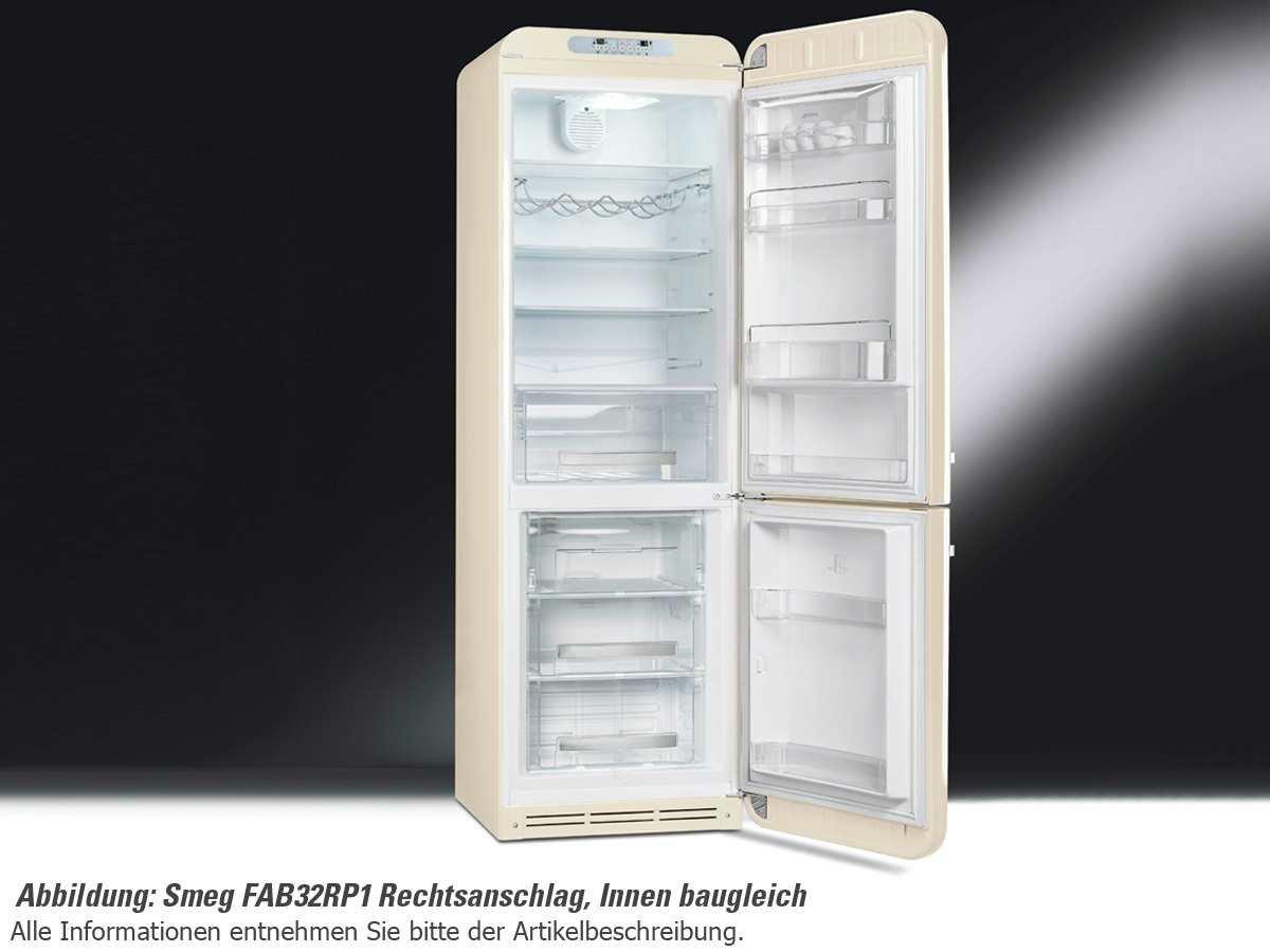 Smeg Kühlschrank Retro Günstig : Smeg fab lp freistehend l a creme kühlschrank mit