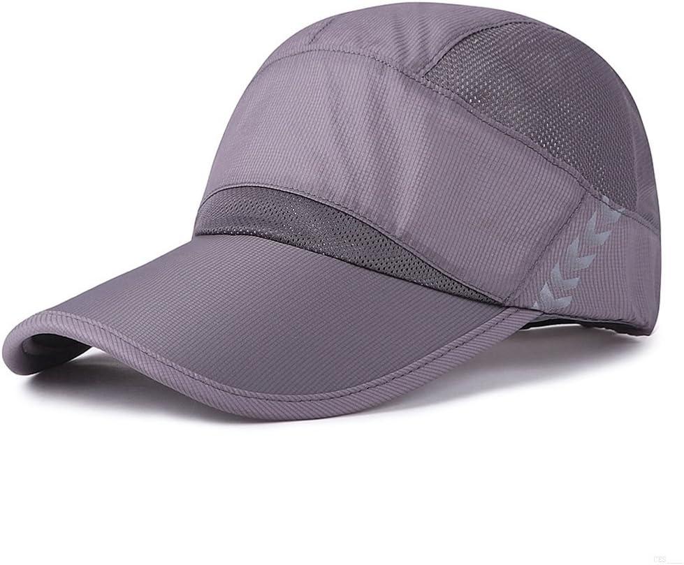 GADIEMKENSD Quick Dry Baseball Cap Visor Hat Breathable Unstructured Sport Hats