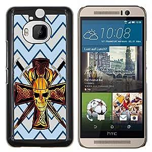 Dragon Case - FOR HTC One M9+ / M9 PLUS - Always needs warm some - Caja protectora de pl??stico duro de la cubierta Dise?¡Ào Slim Fit