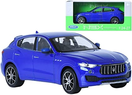 Welly 1:24 Maserati Levante Diecast Metal Model Car Toy White New in Box
