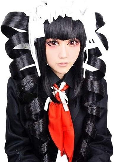 UU-Style Danganronpa V3 Celestia Ludenberg Dress Cosplay Costume Halloween Suit Uniform Outfit for Women
