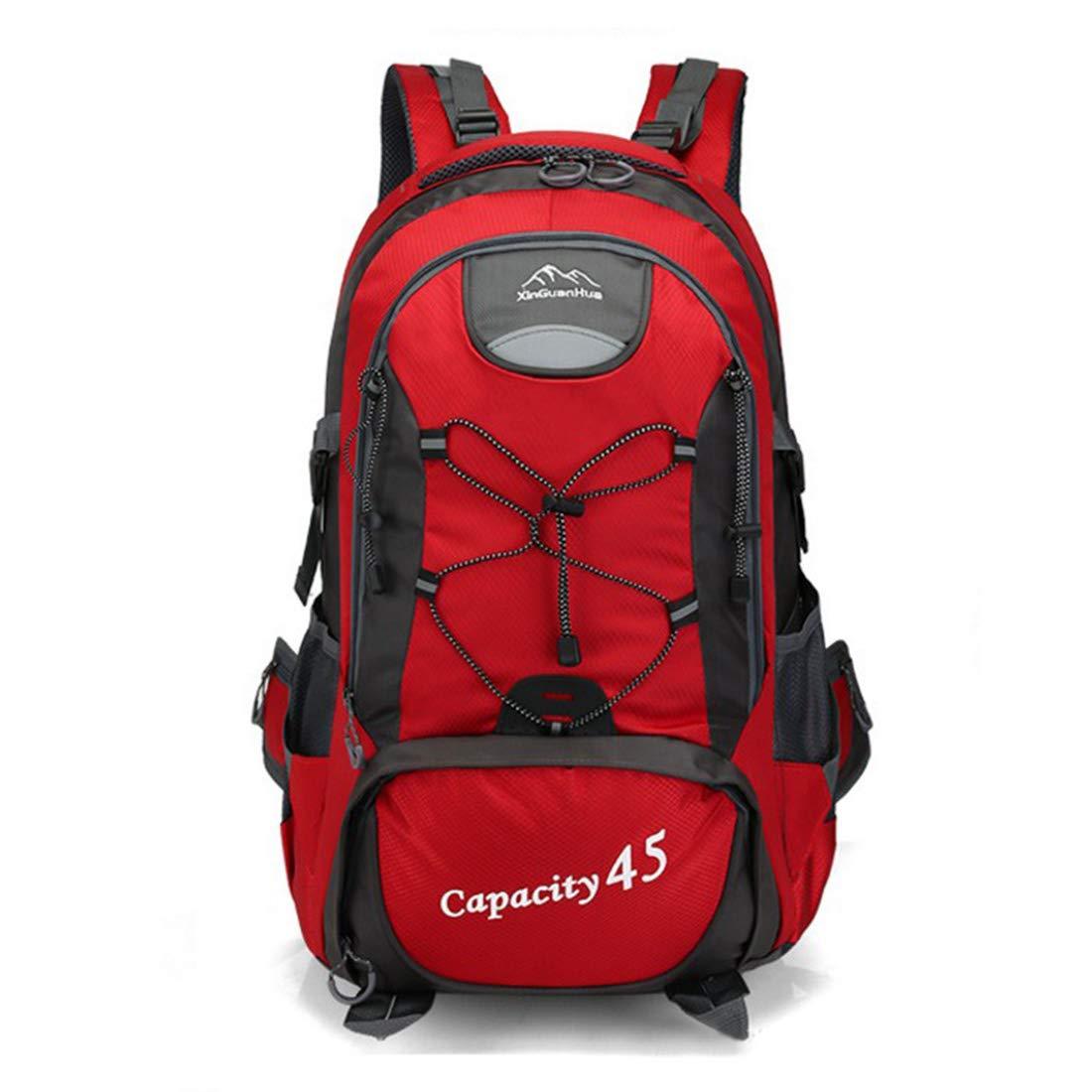 Kunliyin YY1 Wasserdichte Oxford-Bergsteigertasche (Farbe : ROT)