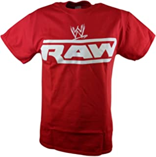1c0a1a6b Amazon.com: WWE Raw Is War Graphic T-Shirt: Clothing
