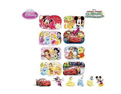 Disney Lot de 2 sets de table Minnie en 3D super id/ée cadeau Lot de 2 Set 1