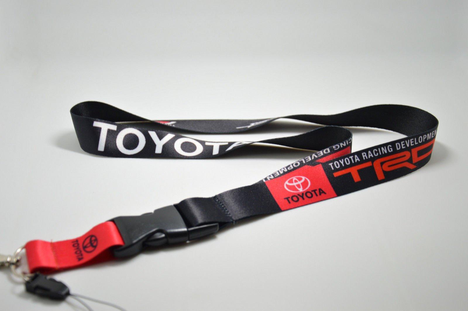 Trd Toyota Racing Jdm Supra Lanyard Lexus Phone Holders Neck Strap Id Key Chain